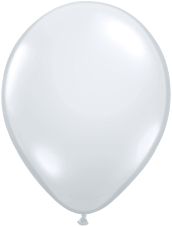 """5"""" Round Diamond Clear - 100 count"""
