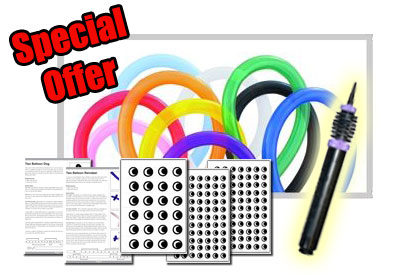 Special Offer - Modelling Balloon Starter Pack