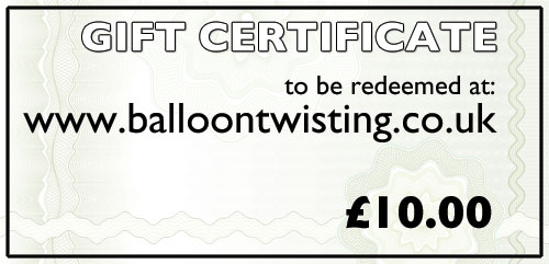 Gift Certificate -